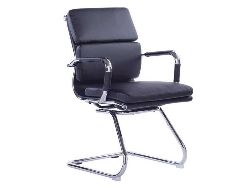 Office Alaska Visitors Chair Black Furniture Connexion